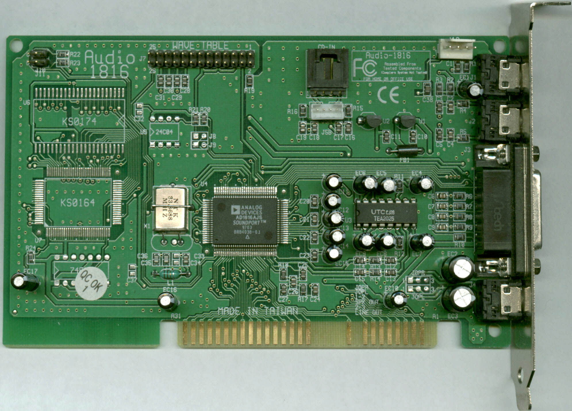 ANALOG DEVICES AD1816A DRIVER FOR WINDOWS MAC